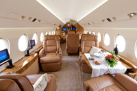 Falcon jet interior for Interieur falcon 2000