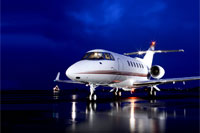 Hawker private jets