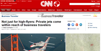 PrivateFly featured on CNN