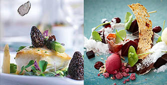 Jersey Michelin star lunch by private jet