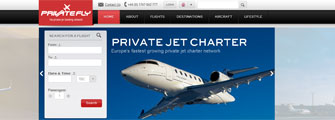 New PrivateFly website