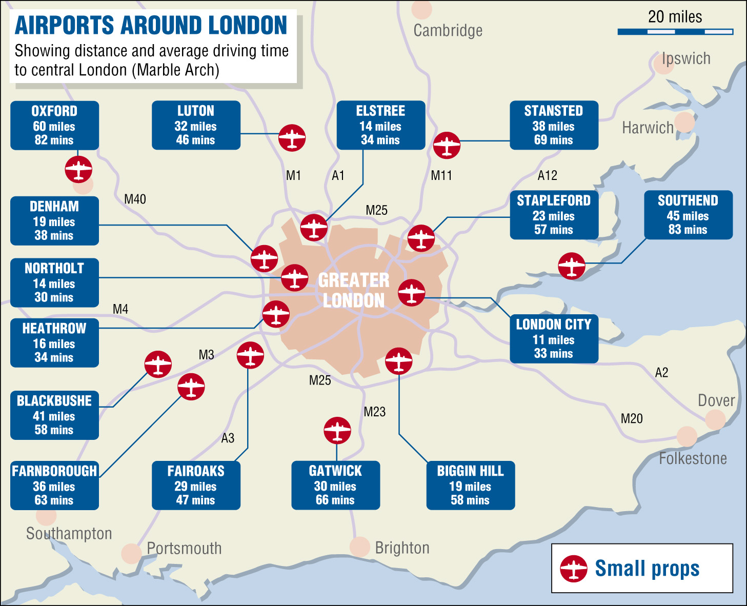 London Airports Map Private Jet Charter | Air Hire | London Any Airport | PrivateFly