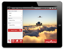 iPad private jet app