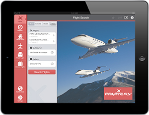 iPad app for private flights