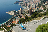 Monaco Helicopter transfer