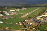 St Gallen airport by private jet