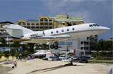Princess Juliana airport by private jet