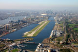 London city airport by private jet