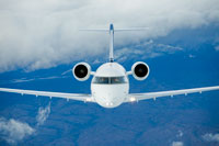 Group private charter flight
