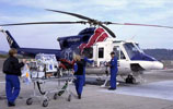 Helicopter Ambulance for Medical Evacuations by air