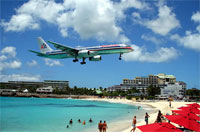 private jet charter and helicopter flights from St Maarten Airport