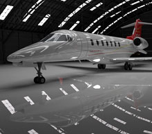 Bond's private jets