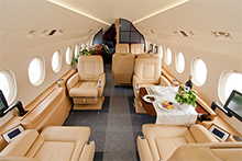 Private jet Empty Sectors