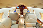 Private jet flight comfort
